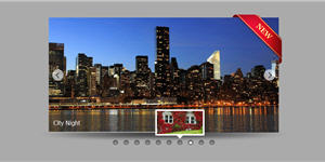 jQuery Slideshow with Ribbon Decoration