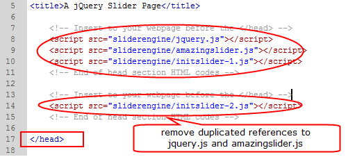 Crea presentaciones de jQuery