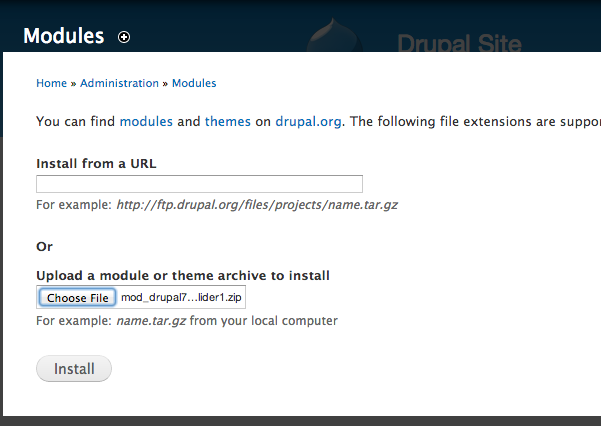 How To Insert Jquery Slider To Drupal Website Jquery Slider
