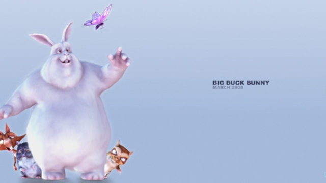 Big Buck Bunny Copyright  Blender Foundation